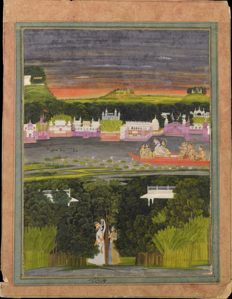 Radha and Krishna in the boat of love.jpg