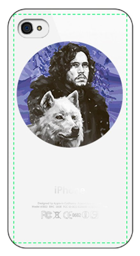 game of thrones-snow.psd